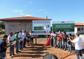 Retomada de construção de escola no Modulo 06 em Juína é lançada