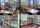 CASA DA CULTURA INICIA REVITALIZAÇÃO DAS BIBLIOTECAS ESCOLARES E COMUNITÁRIAS DE JUÍNA