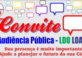 PREFEITURA DE JUÍNA CONVOCA POPULAÇÃO PARA ELABORAÇÃO DA LDO, LOA E PPA