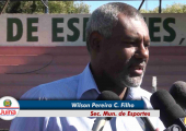 VÍDEO - Prefeitura de Juína através da Secretaria de esportes realiza reforma em praças esportivas do município