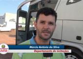 Nova empresa contratada pela prefeitura inicia o transporte de pacientes para Cuiabá