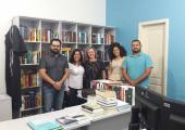Biblioteca municipal de Juína  e poder Judiciário selam parcerias para o projeto amigos do livro e da leitura