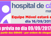 Unidade Móvel do Hospital de Câncer de Mato Grosso estará em Juína