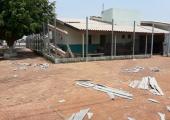Vendaval destrói parte da cobertura de Unidade de saúde em Juína