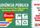 Audiência Pública sobre Saneamento Básico