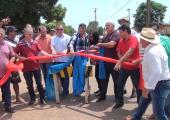 Mais uma obra de pavimentação asfáltica é inaugura em Juína
