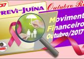 RELATÓRIO DE MOVIMENTO DO PREVI-JUINA OUTUBRO/2017