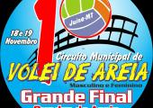 Etapa final do Circuito Municipal de Vôlei acontecerá nos dias 18 e 19 de Novembro