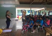 CREAS realiza palestra sobre abuso sexual na Escola Municipal Paulo Freire