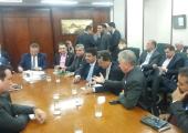 Prefeito Altir Peruzzo se reúne com Ministro da Agricultura Blairo Maggi em busca de recursos para o município de Juína.