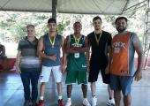 Secretaria de Esportes promoveu o I torneio de Basquete em Juína