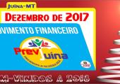 MOVIMENTO FINANCEIRO PREVI-JUINA COMPETÊNCIA DEZEMBRO/2017