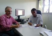 Prefeito Altir Peruzzo Assina Convenio no INCRA de Emenda do Deputado Ságuas