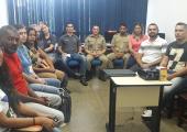 PREFEITO ALTIR PERUZZO E AUTORIDADES DE SEGURANÇA DEFINEM ÚLTIMOS AJUSTES PARA A SEGURANÇA NO CARNAVAL