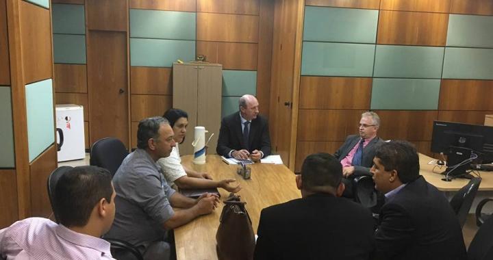 Prefeito Altir Peruzzo está em Brasília pleiteando recursos para 2018