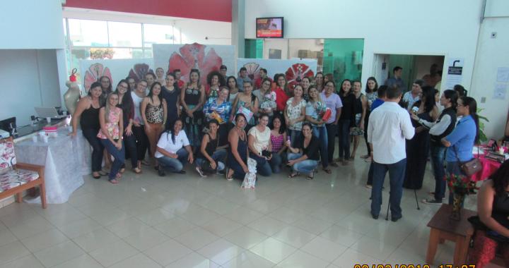 Servidoras Publicas Municipais foram homenageadas com festa no Dia Internacional da Mulher
