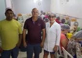 Luis Braz, vice-prefeito de Juína, visita Cooperativa e se impressiona com a organização.