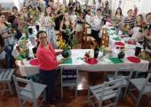 FESTA DOS 36 ANOS DE JUÍNA TERÁ OFICINAS DE IKEBANA E DISTRIBUIÇÃO GRATUITA DE MUDAS DE HORTALIÇAS