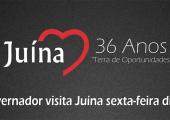 Governador Pedro Taques confirma presença no aniversário de Juína