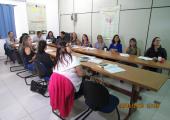 Servidores da saúde  se reúnem para discutir sobre a Programação Pactuada Integrada dos municípios pertencentes ao Polo Regional