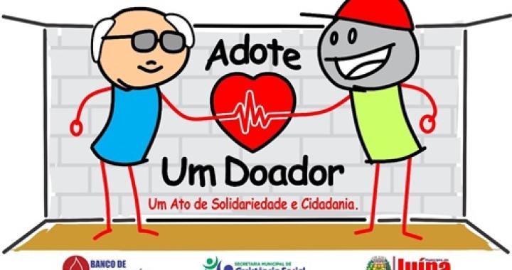 """Idosos do Serviço de Convivência participam de campanha """"Adote um Doador"""""""