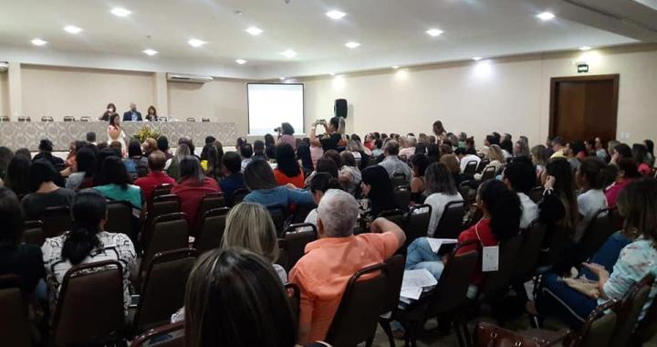 Profissionais da saúde participam de Encontro Estadual para Fortalecimento da Atenção Básica