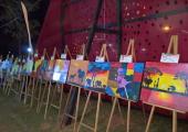 Projeto Pintar e Borrar promoverá exposições de telas pintadas por crianças do Serviço de Convivência e Fortalecimento de Vínculos