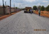 Secretaria de Infraestrutura inicia ultima etapa da pavimentação asfáltica no Setor D e G do módulo 5