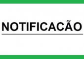 Edital de notificações para calçamento do passeio publico