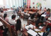 Secretária de Saúde se reúne com médicos  das unidades básicas para debater sobre campanha de Hanseníase no município