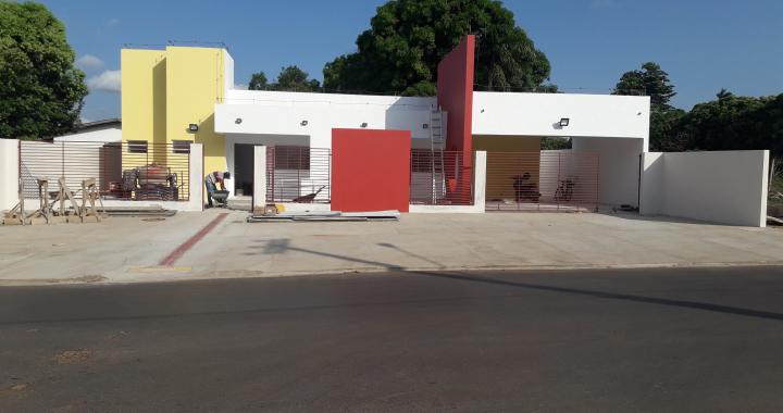 Construção do Centro Integrado da Criança e do Adolescente já está em fase de acabamento
