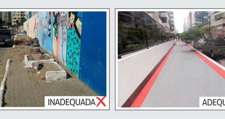 Prefeitura de Juína alerta proprietários para as normas de construção de calçadas