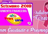 MOVIMENTO FINANCEIRO PREVI-JUINA COMPETÊNCIA SETEMBRO/2018