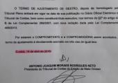 Prefeito de Juína esclarece notificação e multa do TCE a respeito do Portal Transparência do município