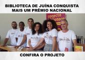 BIBLIOTECA DE JUÍNA CONQUISTA MAIS UM PRÊMIO NACIONAL