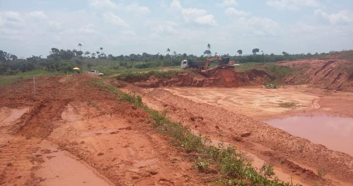 Secretaria de Infraestrutura inicia obra de construção de nova célula do Aterro Sanitário