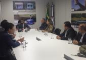 Prefeito Altir busca recursos para construção de nova fonte de captação de água no Rio Juinão