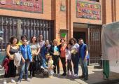 NA COLÔMBIA, PATRÍCIA ITAIBELE DE JUÍNA, CONHECE BIBLIOTECAS INOVADORAS.
