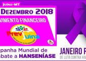 MOVIMENTO FINANCEIRO PREVI-JUINA COMPETÊNCIA DEZEMBRO/2018