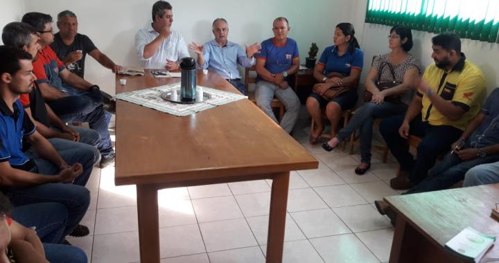 LICENCIAMENTO AMBIENTAL É TEMA DE REUNIÃO NA SECRETARIA DE AGRICULTURA, PECUÁRIA E MEIO AMBIENTE