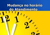 HORÁRIO DE FUNCIONAMENTO DO CRAS E VÓ PAIXÃO SERÃO ALTERADOS A PARTIR DE SEGUNDA DIA 16 DE ABRIL