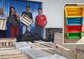 EM JUÍNA, CAIXAS DE FRUTAS SERÃO TRANSFORMADAS EM BIBLIOTECAS CASEIRAS
