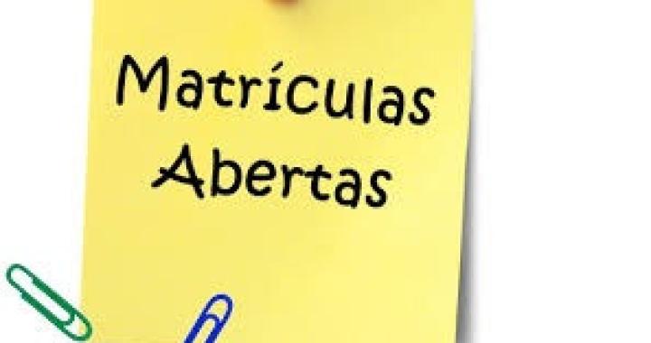 MATRÍCULAS ABERTAS PARA  ESCOLA MUNICIPAL PROFESSORA MARIA HILDA PANAS NO MÓDULO 6