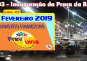 MOVIMENTO FINANCEIRO PREVI-JUINA COMPETÊNCIA FEVEREIRO/2019