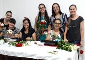 FESTA DOS 37 ANOS DE JUÍNA TERÁ DISTRIBUIÇÃO GRATUITA DE FLORES IKEBANA