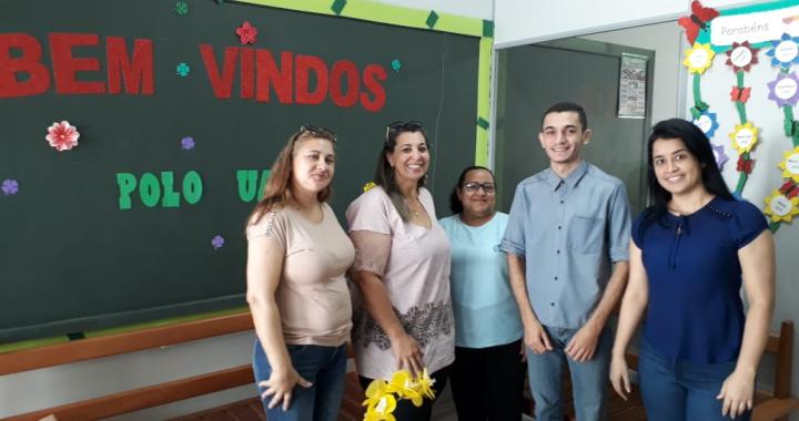 POLO DA UAB DE JUÍNA RECEBE VISITA DE COORDENADORAS DO IFMT