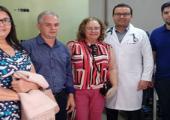 PREFEITO E SECRETÁRIA DE SAÚDE VISITAM CENTROS DE HEMODIÁLISE VISANDO IMPLANTAÇÃO DE UNIDADE EM JUÍNA