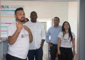 CONSELHEIRO DO TRIBUNAL DE CONTAS VISITA CASA DA CULTURA EM JUÍNA