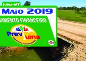 MOVIMENTO FINANCEIRO PREVI-JUINA COMPETÊNCIA MAIO/2019