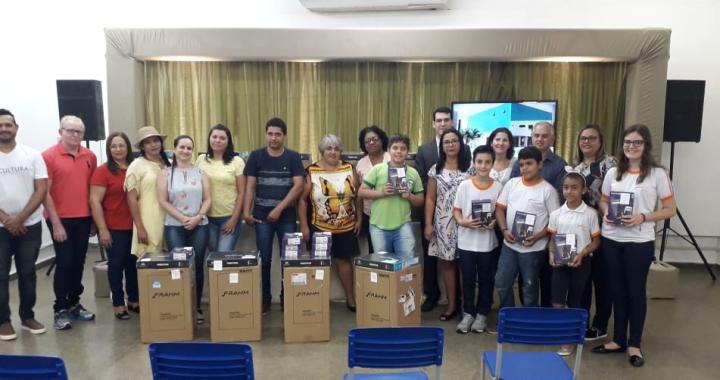 JUÍNA: VENCEDORES DO CONCURSO DE COMBATE AO TRABALHO INFANTIL RECEBEM PREMIAÇÃO NA CASA DA CULTURA